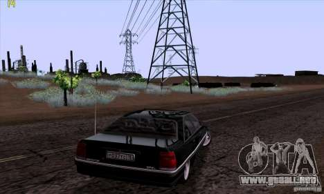 Opel Omega A Diamant Stock para GTA San Andreas left