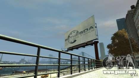 New gas station para GTA 4 segundos de pantalla
