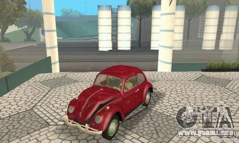 Volkswagen Beetle 1963 para las ruedas de GTA San Andreas