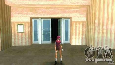 Girl Player mit 11skins para GTA Vice City undécima de pantalla