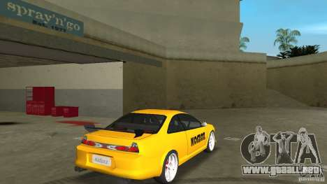 Honda Accord Coupe Tuning para GTA Vice City visión correcta
