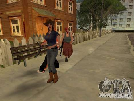 Cualquier grupo de player 3.0 para GTA San Andreas segunda pantalla