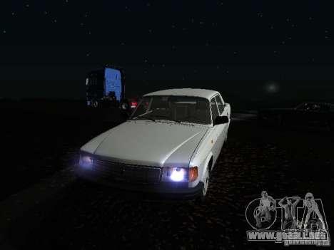Volga GAZ 31029 para la vista superior GTA San Andreas