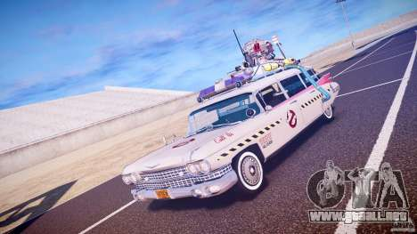 Ecto-1 (Cazafantasmas) Final para GTA 4