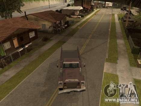 Ford Freightliner para GTA San Andreas vista posterior izquierda
