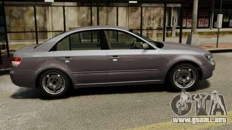Hyundai Sonata 2008 para GTA 4 left