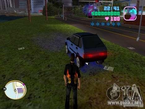 VAZ 2109 Samara para GTA Vice City left