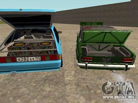 Moskvich 2141 para las ruedas de GTA San Andreas