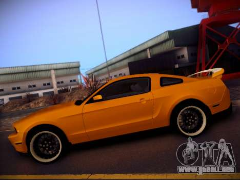 Ford Mustang GT 2010 Tuning para GTA San Andreas left