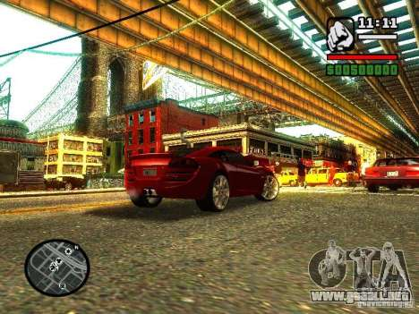 Lotus Europe S para GTA San Andreas left