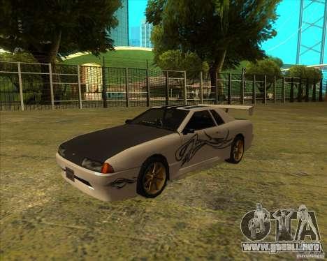Elegía con nuevos spoilers para la visión correcta GTA San Andreas