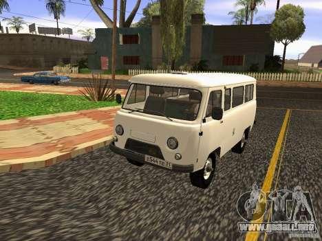 2206 UAZ para visión interna GTA San Andreas