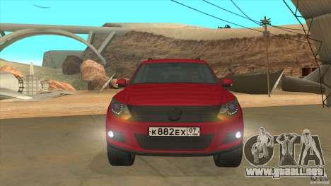 Volkswagen Tiguan 2012 v2.0 para vista lateral GTA San Andreas