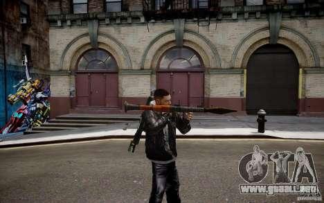RPG-7 de MW3 para GTA 4