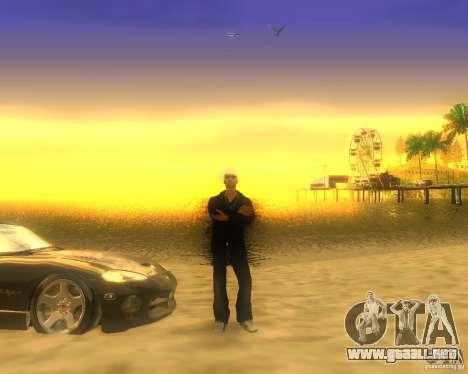 Modificación gráfica global para GTA San Andreas sexta pantalla