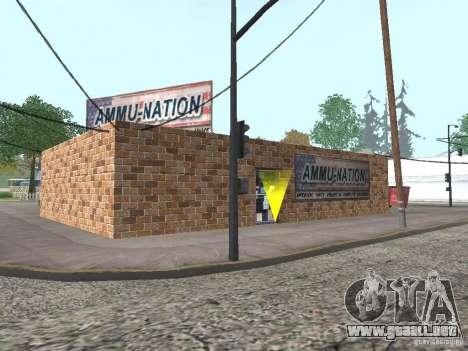Pueblo de Angel Pine modificado para GTA San Andreas sucesivamente de pantalla