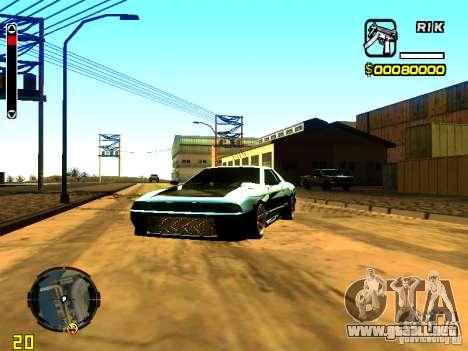 New Elegy v1 para GTA San Andreas