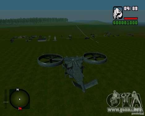 SA-2 Samson para la visión correcta GTA San Andreas