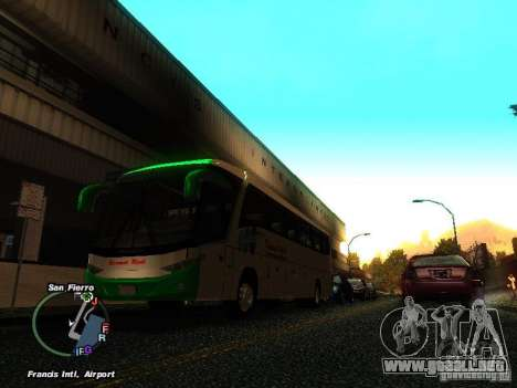 Bus Kramat Djati para GTA San Andreas left