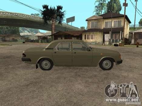GAZ 3110 v 1 para GTA San Andreas left