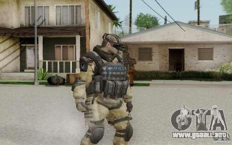 Un ingeniero de Warface para GTA San Andreas segunda pantalla