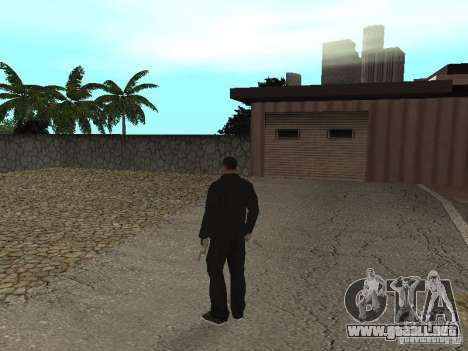 CJ Mafia Skin para GTA San Andreas sucesivamente de pantalla