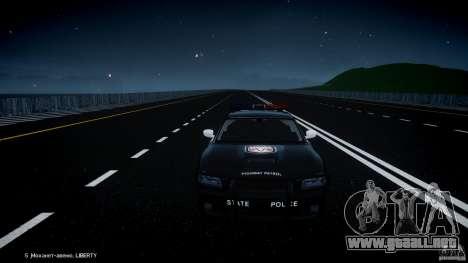 Dodge Charger SRT8 Police Cruiser para GTA motor 4