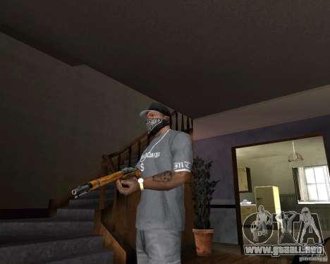 Escopeta M511 para GTA San Andreas segunda pantalla