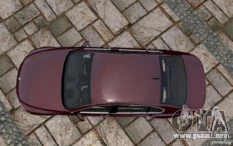 BMW 760Li 2011 para GTA 4 vista desde abajo