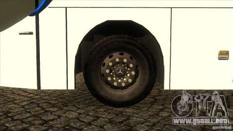 Hino New Travego RK1 para visión interna GTA San Andreas