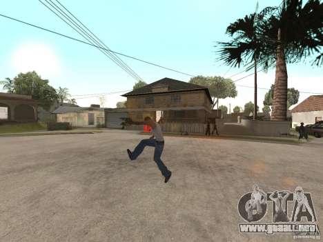 Awesome .IFP V3 para GTA San Andreas tercera pantalla