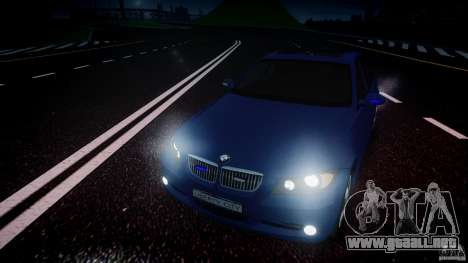 BMW 3-Series Unmarked [ELS] para GTA 4 vista lateral