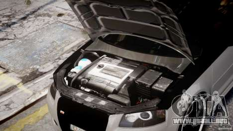 Audi S3 para GTA 4 vista lateral