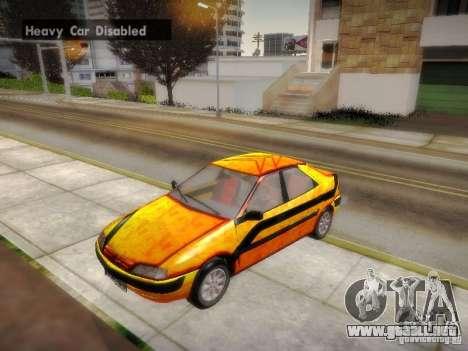 Citroën Xantia para la vista superior GTA San Andreas