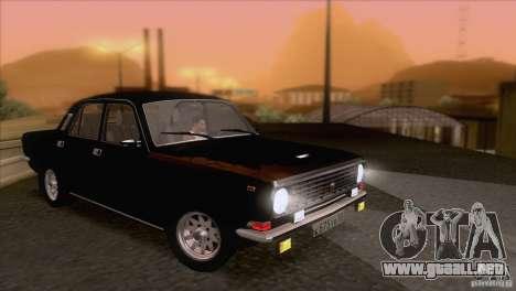 Volga GAZ 24-10 para la vista superior GTA San Andreas