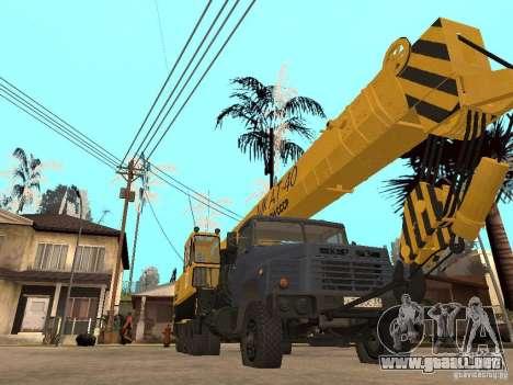 MKAT-40 basado en Kraz-250 para GTA San Andreas