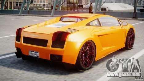 Lamborghini Gallardo Superleggera para GTA 4 visión correcta