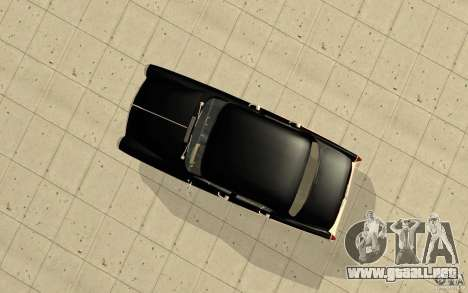 Relampago Negro para GTA San Andreas sucesivamente de pantalla