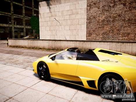 Lamborghini Murcielago LP650-4 Roadster para GTA 4 left