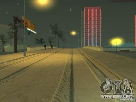 Nieve v 2.0 para GTA San Andreas