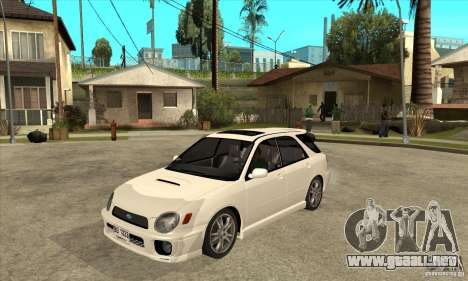 Subaru Impreza WRX Wagon 2002 para GTA San Andreas