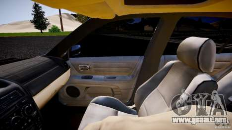 Lexus IS300 para GTA 4 vista interior