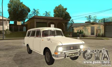 AZLK 427 para visión interna GTA San Andreas