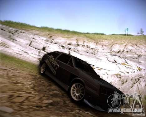 VAZ 2108 K-arte para vista lateral GTA San Andreas