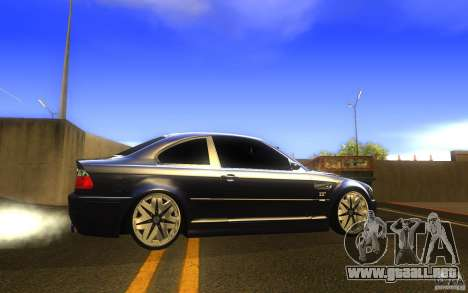 BMW M3 E46 V.I.P para GTA San Andreas left