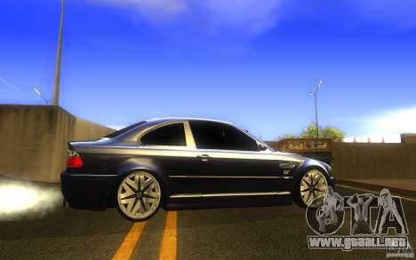 BMW M3 E46 V.I.P para GTA San Andreas left