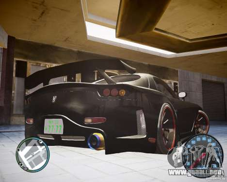 Mazda RX-7 FD3S Veilside para GTA 4 left