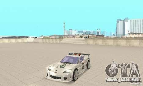 Chevrolet Corvette C6 sargento de policía Cruz N para GTA San Andreas