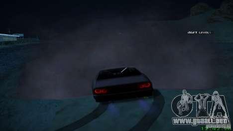 Nuevos efectos 1.0 para GTA San Andreas tercera pantalla