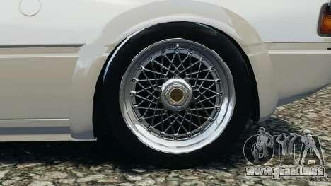 BMW M1 Procar para GTA 4 vista interior